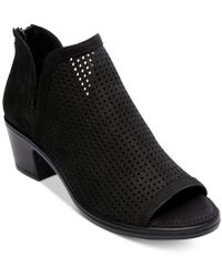 Steven by Steve Madden - Prime Perforated Booties - Lyst