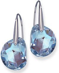 Swarovski Galet Earrings Lyst
