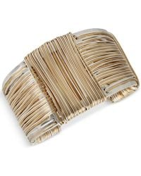 Robert Lee Morris - Wire-wrapped Sculptural Cuff Bracelet - Lyst