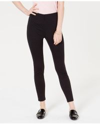 Maison Jules - Flocked Dotted Skinny Pants, Created For Macy's - Lyst