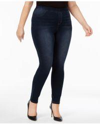 Style & Co.   Plus Size Denim Leggings   Lyst
