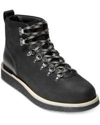 Cole Haan - Grandexplore Alpine Hiker Waterproof Boots - Lyst