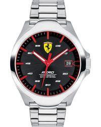 Ferrari - Aero Stainless Steel Bracelet Watch 44mm - Lyst