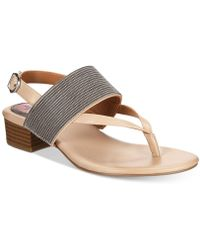 Style & Co. - Marxie Block-heel Sandals, Created For Macy's - Lyst