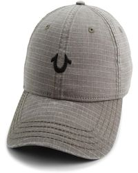 0ab4a924 True Religion - Pigment Dyed Ripstop Cap - Lyst
