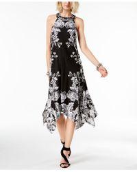 INC International Concepts - I.n.c. Petite Printed Handkerchief-hem Halter Dress, Created For Macy's - Lyst