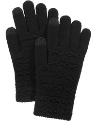 Steve Madden - Cable-knit Itouch Gloves - Lyst