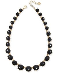"Charter Club - Gold-tone Graduated Stone Statement Necklace, 17"" + 2"" Extender, Created For Macy's - Lyst"
