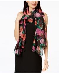 INC International Concepts   Tumbling Roses Wrap   Lyst