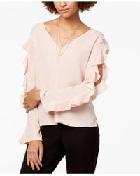 1.STATE - Cold-shoulder Top - Lyst
