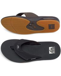 Reef - Fanning Thong Sandals With Bottle Opener - Lyst