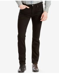 Levi's - 511tm Slim Fit Performance Stretch Jeans - Lyst