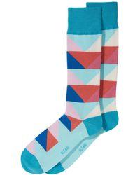 Alfani - Abstract Triangle Socks, Created For Macy's - Lyst