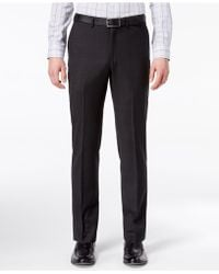 DKNY - Modern-fit Stretch Textured Suit Pants - Lyst