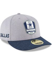 4dc4094c4 Lyst - KTZ Dallas Cowboys Sideline Low Profile 59fifty Fitted Cap in ...