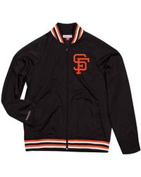 Mitchell & Ness - San Francisco Giants Top Prospect Track Jacket - Lyst
