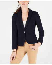 Tommy Hilfiger - Single-button Blazer, Created For Macy's - Lyst