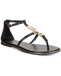 Bebe - Pamelaa Flat Sandals - Lyst