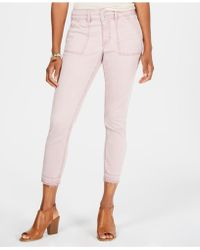 Style & Co. - Released-hem Skinny Trousers, Created For Macy's - Lyst