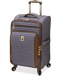 """London Fog - Kensington 25"""" Softside Spinner Suitcase - Lyst"""