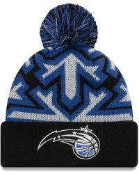 860b5e99f Orlando Magic Glowflake Cuff Knit Hat