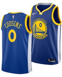 8d648022752 Nike Kevin Durant Icon Edition Swingman Jersey (golden State Warriors)  Men's Nba Connected Jersey in Blue for Men - Save 33% - Lyst