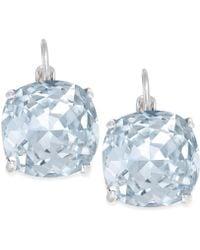 Kate Spade - Crystal Small Drop Earrings - Lyst