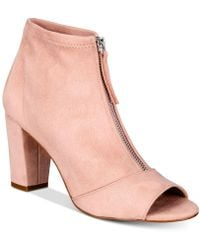 INC International Concepts - I.n.c. Kirsi Zipper Booties, Created For Macy's - Lyst
