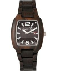 Earth Wood - Sagano Wood Bracelet Watch W/date Brown 42mm - Lyst