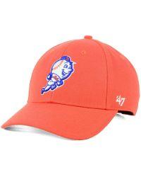 47 Brand - New York Mets Curved Mvp Cap - Lyst
