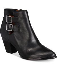 Lyst Frye Women S Jennifer Ankle Booties In Black