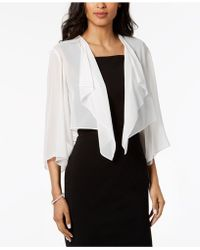 Alex Evenings - Chiffon Cover Up - Lyst
