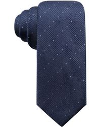 Alfani - Parkside Dot Silk Slim Tie, Created For Macy's - Lyst