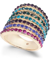 INC International Concepts - I.n.c. Gold-tone Stone Multi-band Statement Ring, Created For Macy's - Lyst
