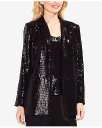 Vince Camuto - Notched-collar Sequined Blazer - Lyst