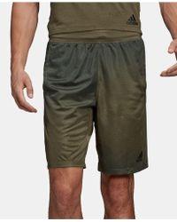 7cb2c2b0feb340 Lyst - adidas Men s Basketball Shorts in Green for Men