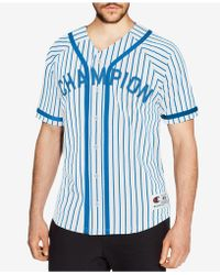 Champion - Baseball Shirt - Lyst