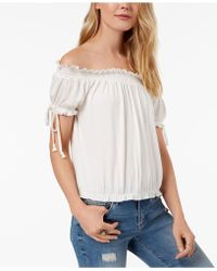 American Rag - Juniors' Off-the-shoulder Top, Created For Macy's - Lyst