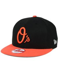official photos a6e64 a74ad KTZ Baltimore Orioles Star Wars Logoswipe 9fifty Snapback Cap in Black for  Men - Lyst