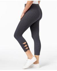 Style & Co. | Cutout Capri Leggings | Lyst