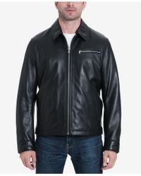 Michael Kors - James Dean Leather Jacket, Created For Macy's - Lyst