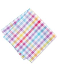 Tommy Hilfiger | Small Grid Pocket Square | Lyst