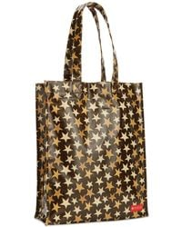 Macy's | Medium Coated Cotton Canvas Tote | Lyst