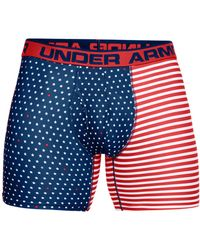 Under Armour - O-series Printed Boxer Briefs - Lyst