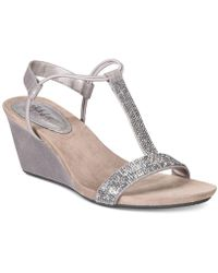 Style & Co. - Mulan 2 Platform Wedge Sandals - Lyst