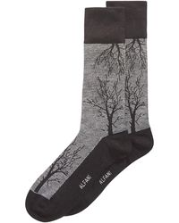 Alfani - Tree-branch Printed Socks, Created For Macy's - Lyst