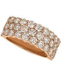 Le Vian - Diamond Band (3-1/10 Ct. T.w.) In 14k Rose Gold - Lyst
