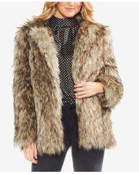 Vince Camuto - Faux Fur Kiss Front Jacket - Lyst