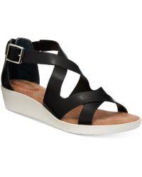 Giani Bernini - Bryana Wedge Sandals - Lyst