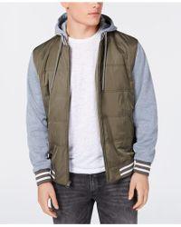 American Rag - Fleece Varsity Jacket, Created For Macy's - Lyst